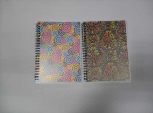 A5 PP cover spiral notebook college ruled