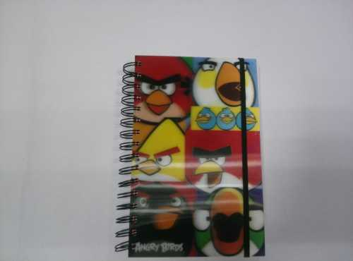A5 3D cover spiral notebook college ruled