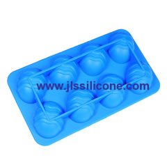 3-D egg silicone chocolate candy mold