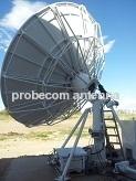 Probecom 4.5m C/Ku band antenna