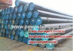 Bare bundle seamless steel pipe