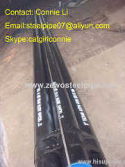 DIN st37 carbon seamless steel pipe