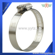 American Type Hose Clamp stainless steel 52-76mm