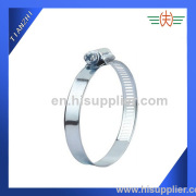 American Type Hose Clamp with crossed screw
