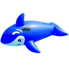 Whale Shape Inflatable surf rider,Inflatable Rider
