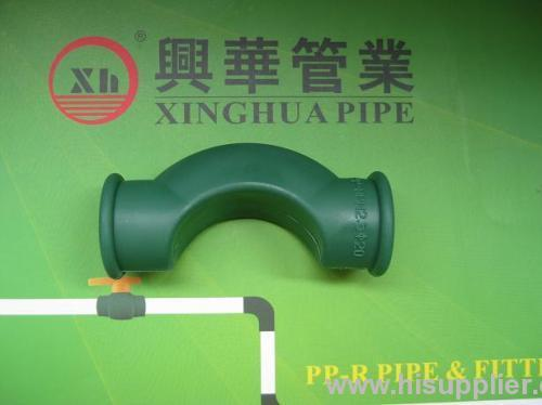 popular PPR fittings plumbing material PPR short by pass bend
