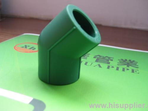 PPRC fittings plumbing material Elbow 45°