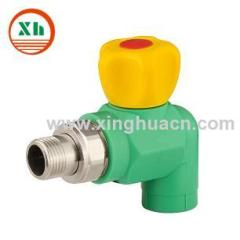 PPR angle valve for radiator