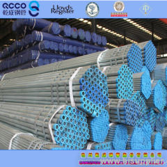 Galvanized pipes ASTM A53 API 5L Gr.B