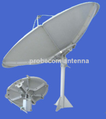 Probecom C band 2.4m dish antenna