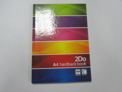 A4 single subject hardbound notebook college ruled