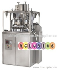 Double Rotary Tablet Press Machine 27 Stn