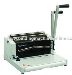 3:1 wire binding machine
