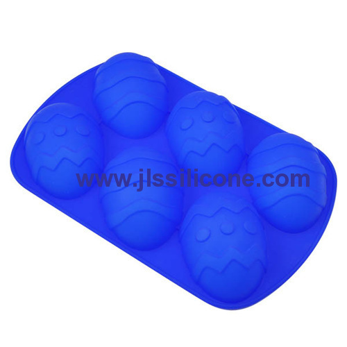 funny easter egg silicone bakeware molds