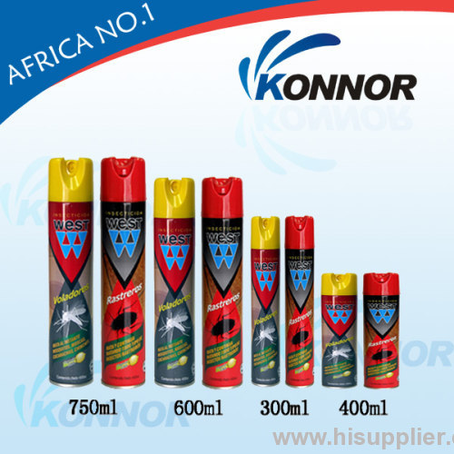 Insecticide spray sales water based aerosol insecticide spray