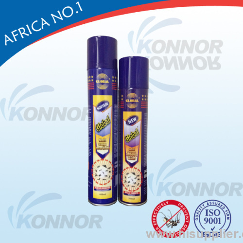 Hot-selling AFRICA MARKET(300ML;400ML;750M Insecticide spray, aerosol insecticide, cockroach insecticide NO:IN019
