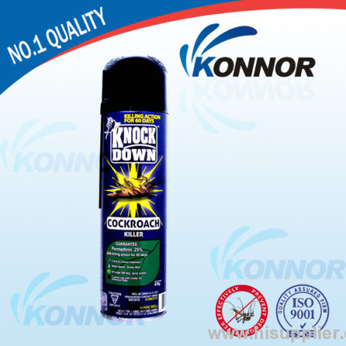 killing mosquitoes insecticide spray