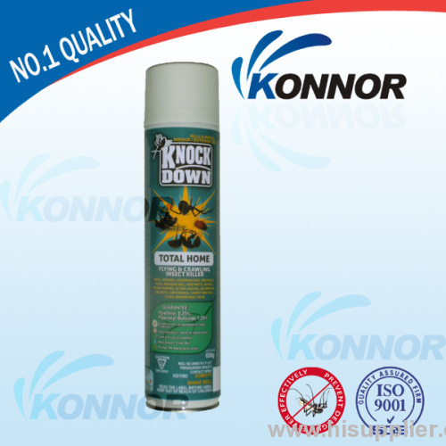 Household water based insecticide spray