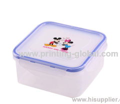 HIgh Quality Heat Transfer Printing Foil For Plastic Disney Dinner Box