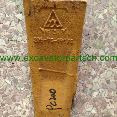 PC200 205-70-19570 horizontal pin type bucket teethfor excavator