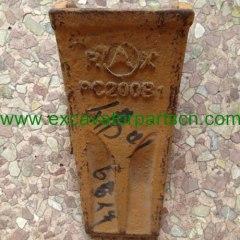 KOMATSU PC200B1 bucket teeth for excavator