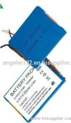 Lithium polymer battery 3.7V 1400mAh tablet pc and MID battery