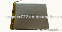 Lithium battery 3.7V 2800mAh li polymer battery rechargeable battery