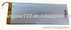 Lithium battery 3.7V 3200mAh li polymer battery tablet pc battery