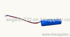 Lithium battery 3.7v 18650 1500mAh li ion battery