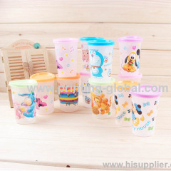 Kid Cup With Cartoon Design Heat Transfer Sticker Hot Stamping Foil