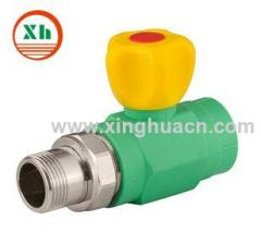 PPR male Straight Valve For Radiator