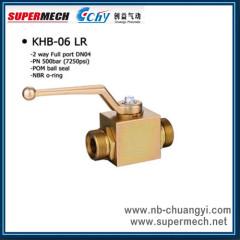 High Pressure Ball Valve KHB-LR