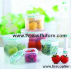 Rectangular Vacuum Food Container