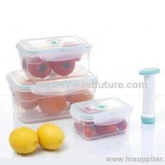 3 PCS Vacuum Food Storage Container