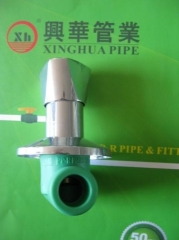 Popular PPRC fittings PPRC stop Valve from China