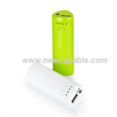 2600mAh power bank with Samsung battery cell
