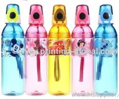 Hot Stamping Printing Foil For Children Plastic Water Bottle