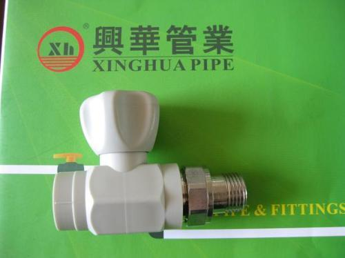 PPRC Male Straight radiator Valves from China