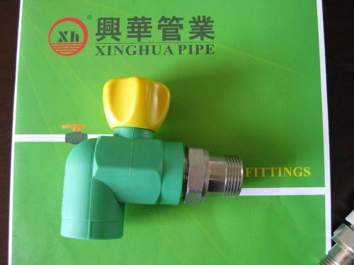 PPRC Male Elbow Radiator Valves from China