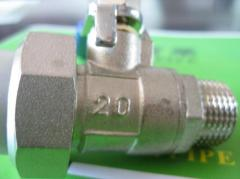PPRC male Ball Valve with Union