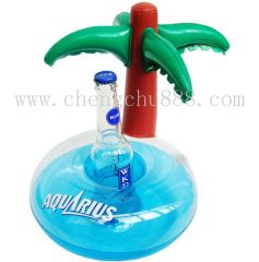 Inflatable Can Holder,Inflatable PVC Bottle Holder