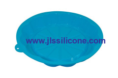 big round pizza silicone bakeware moulds