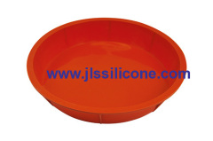 large round silicong pizza silicone bakeware moulds