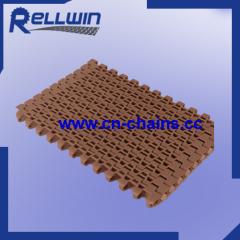 Plastic Straight Running Flush grid Modular Conveyor Belt