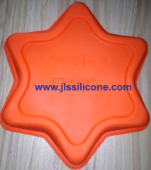 stylish cake and pizza silicone bakeware moulds