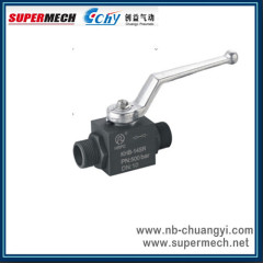 KHB-SR Stainless Steel High Pressure Ball Valve