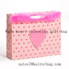 warm heart vlentine gift bag kr0809