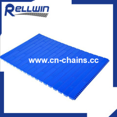 Flat top straight running plastic conveyor chains 900series Flush Grid Base Flights 900
