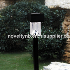 small solar garden light