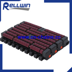 Low Backline Pressure plastic modular conveyor belt 1005 heavy duty roller conveyor chain